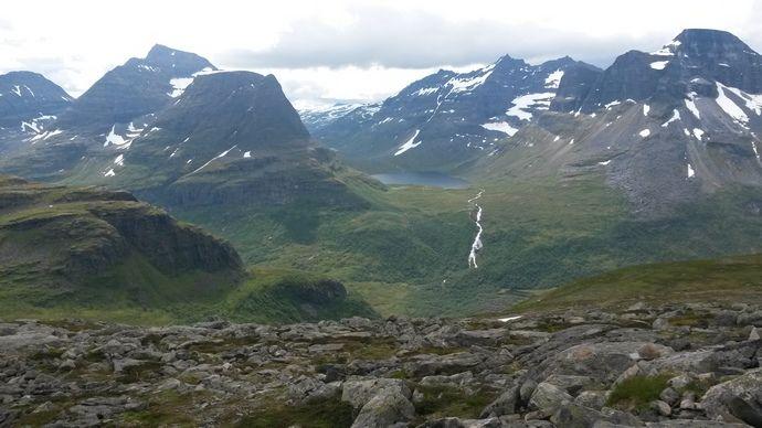 Utsikt frå Bjøråskaret