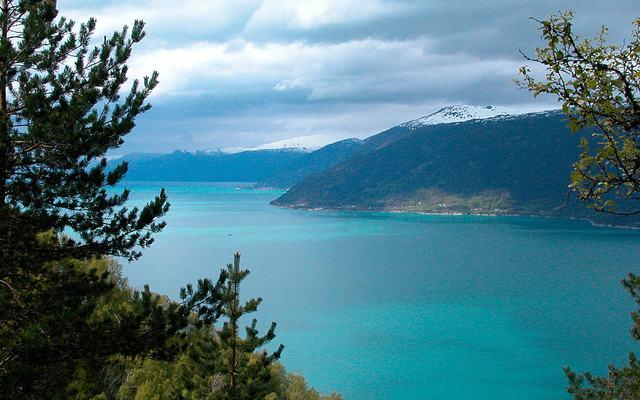 Sognefjorden mot Balestrand (2)