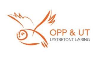 Opp og Ut logo