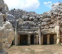 Ggantija,Temple,Gozo,Malta