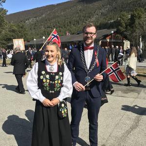 Nora Lindbom og Eirik L. Mevik