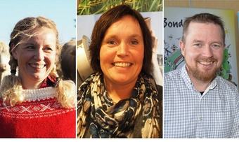 Fylkesledere BL Midt-Norge Borgny Kjølstad Grande, Kari Åker, Oddvar Mikkelsen