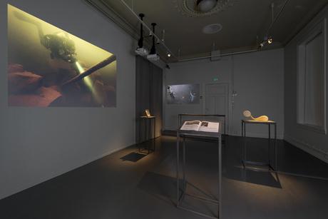 Sissi Westerberg/Daniel Peltz (SE/US)5.64 Seconds of Artistic Labour by Unddor Egill Johnson (video + glass piece).Photo Istvan Virag