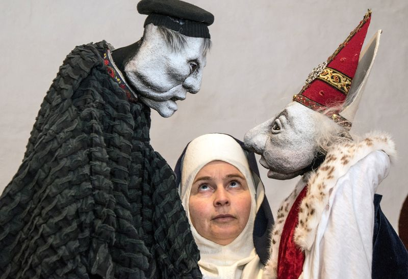 Luther,pave og Katharina