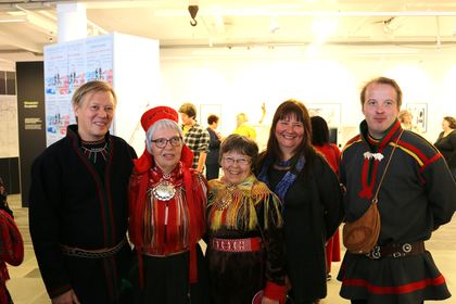 Åpning samisk utstilling