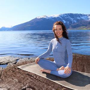 Yogainstruktør Mari Westad