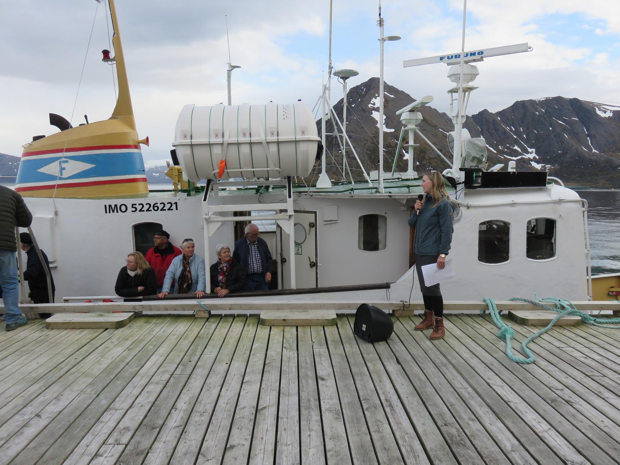 Tur med Gamle Mårøy. Foto Ingrid Immonen