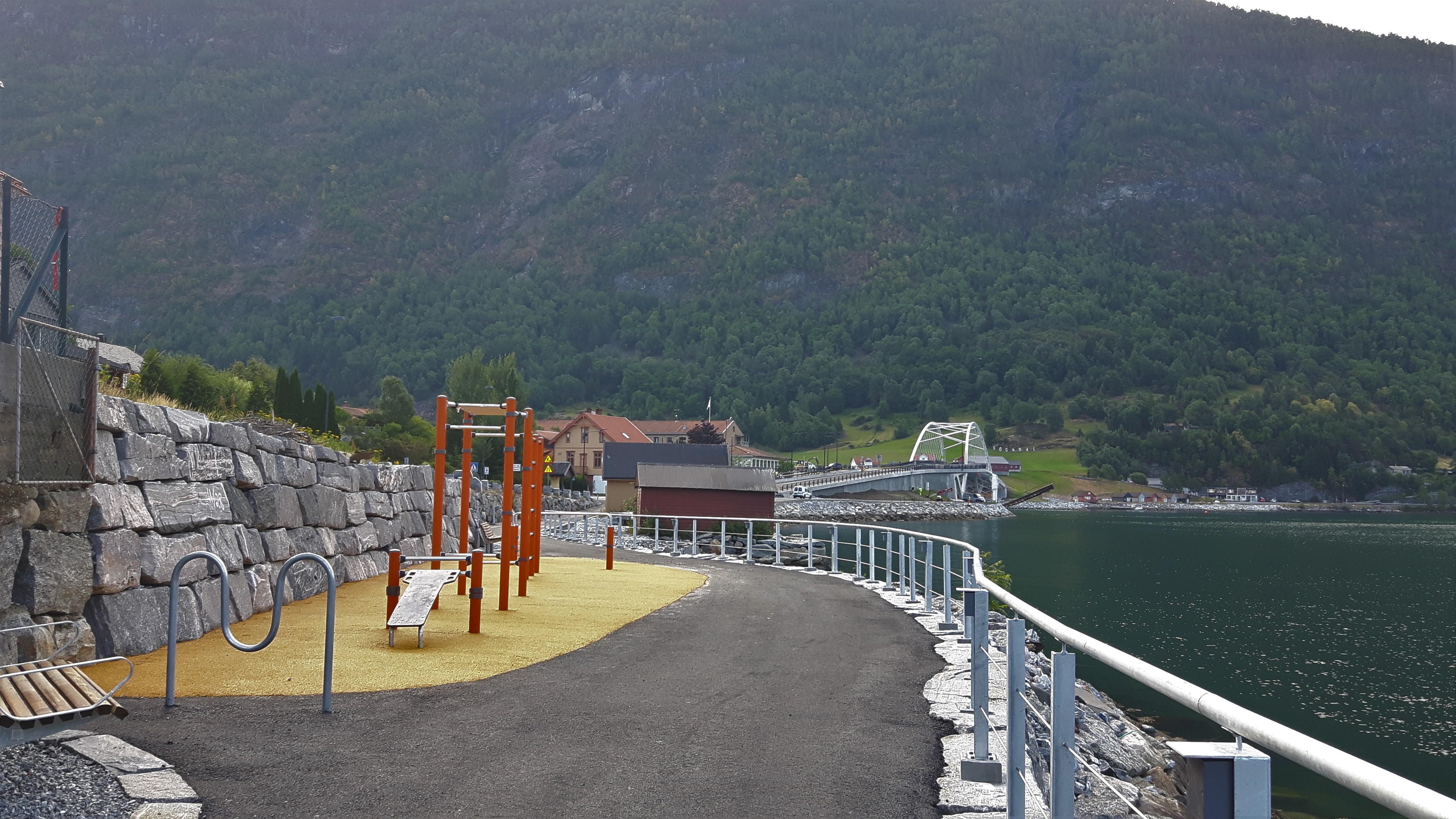 Fjordstien - treningsapparat