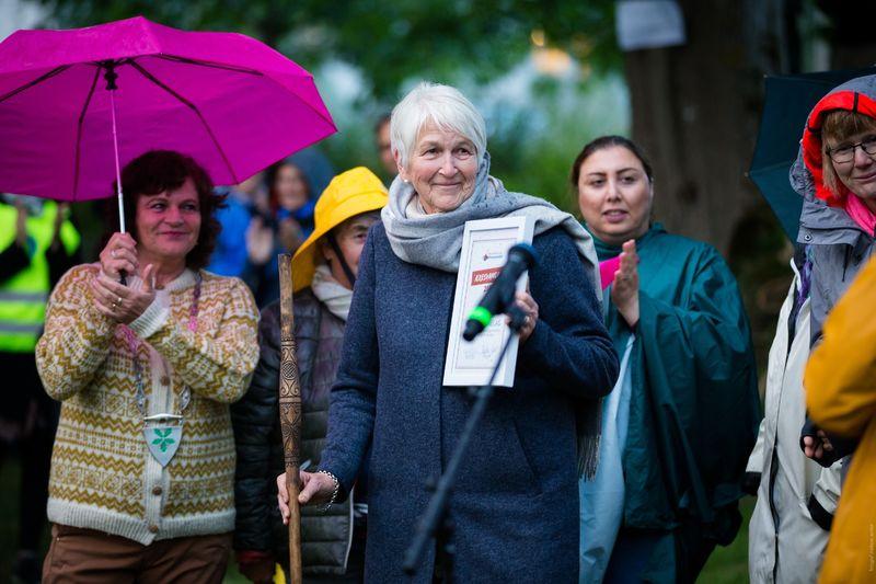 Æresvandrer 2018 til Meisingset Bygdekvinnelag