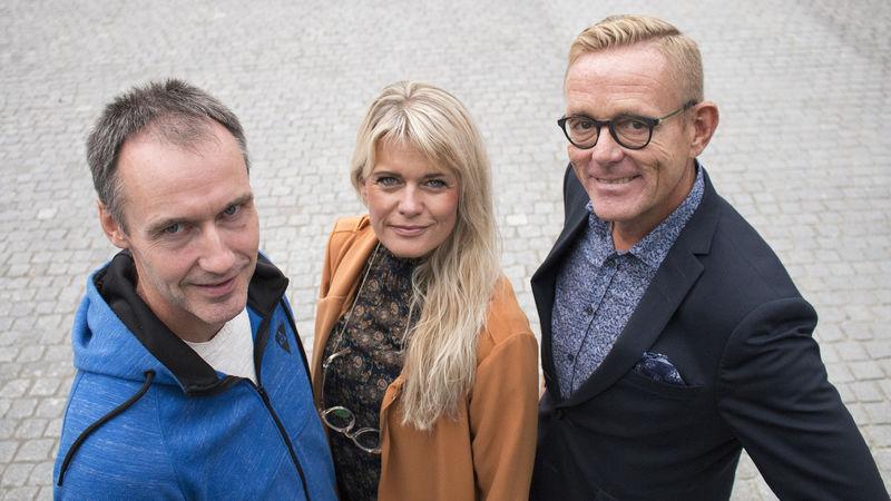Karl Einar Røste, Henriette Enger og Tor Rullestad gleder seg til Skaperfesten