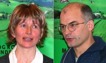 Rose Bergslid og Arnar Lyche