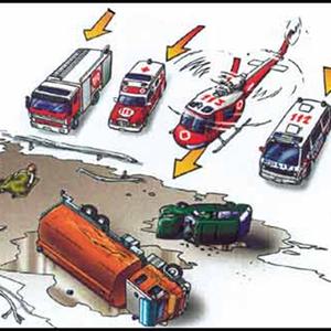 Illustrasjon sikkerhet og beredskap