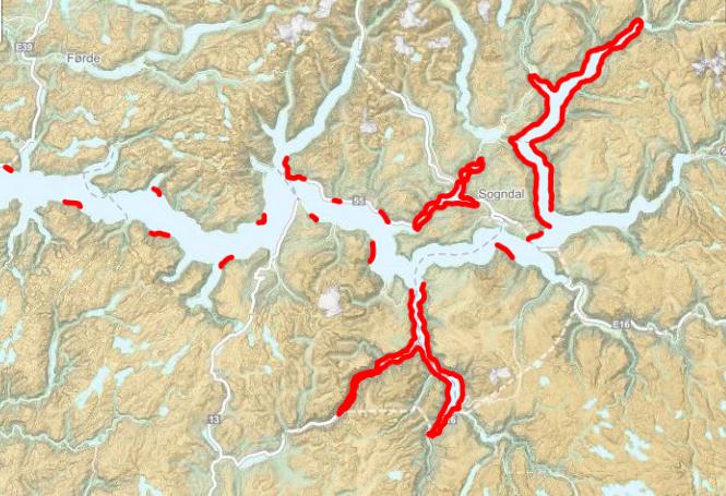 Kart fredningsområde for hummar