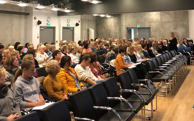 Felles fagdag med Ingrid Midteide Løkken frå Læringsmiljøsenteret
