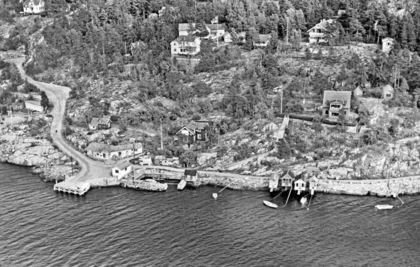 Svestad feriehjem. Foto: Widerøe/MiA-Museene i Akershus