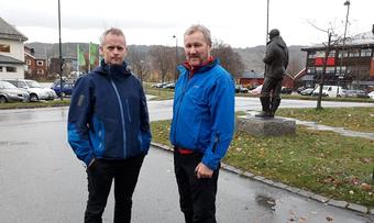 Ove Magne Aasen og Georg Solem2