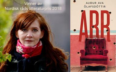 Nordisk råds litteraturpris til Audur Ava Ólafsdottir
