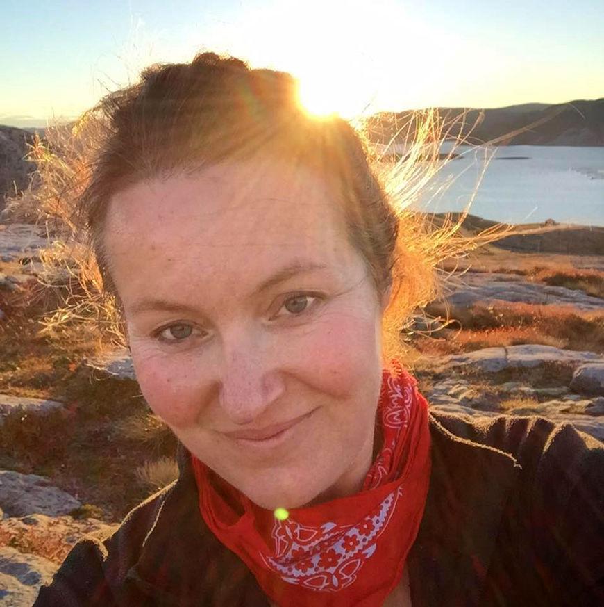 Sigrid Tørriseng Angen (43) er ansatt som kommunalsjef for strategi og samfunnsutvikling i nye Namsos kommune. Foto: privat