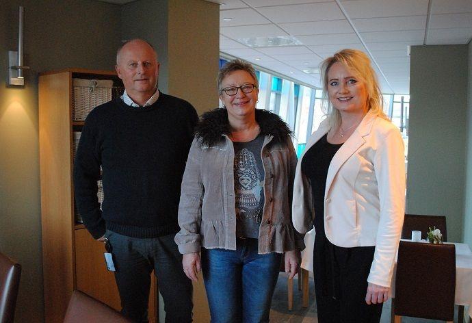 Knut Haugen, Eva Husby, Sara Akerfeldt