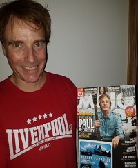 "Happy owner of the music magazine Mojo October 2018 issue, Stein Morten. Mojo presents here ""The fab sound of Liverpool"", and its includes the CD ""Mersey Paradise"" - see the cover of the CD."