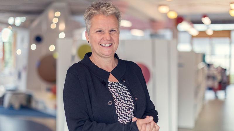 Biblioteksjef Mette Westgaard