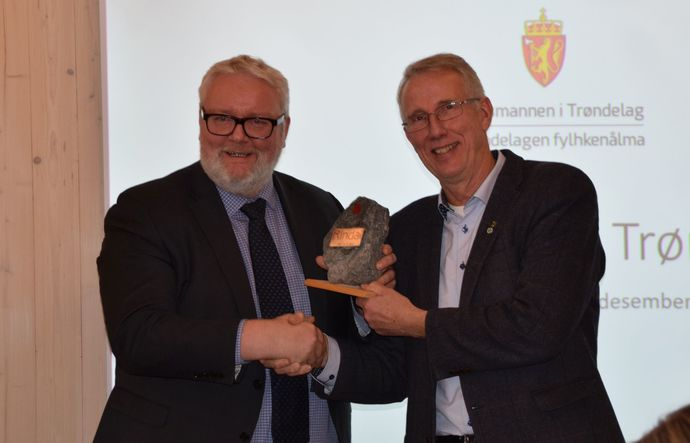 Frank Jenssen og Ola T Heggem