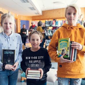 Elever fordeler bøkerr