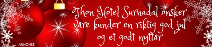 God jul Trollheimsporten Vårsøg hotell mrk