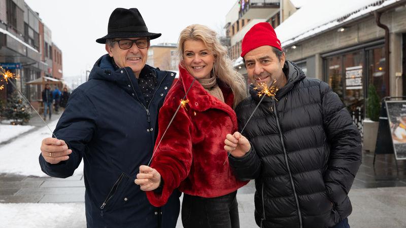 Odd-Hermann Roel Børke, Henriette Enger og Asle Berteig