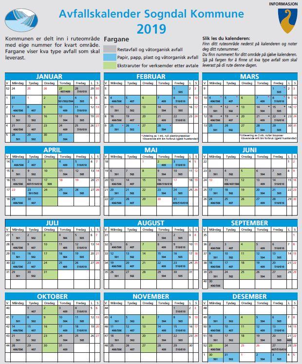 Kalender 19 skjermbilde
