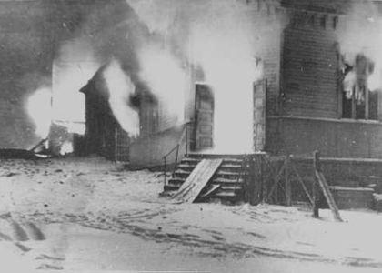 Brenninga av Hammerfest