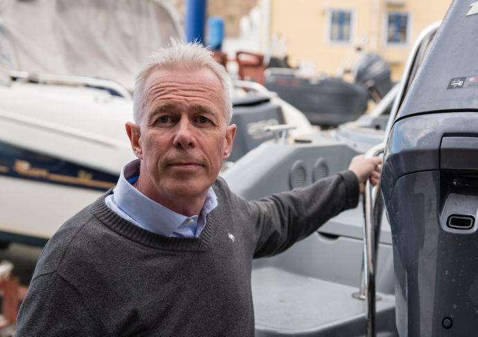 Arne Voll, kommunikasjonssjef i Gjensidige_Få båten på land.jpg