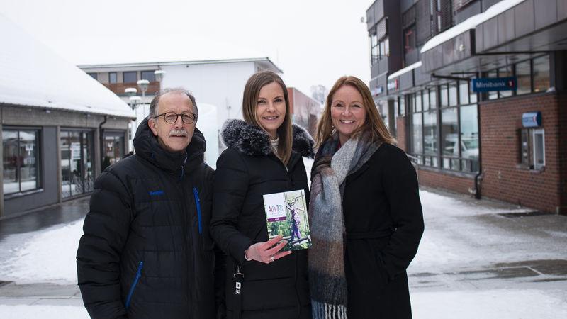 Roy Carstens, Linda Skansberg Torstensen og Monica M. Jørgensen