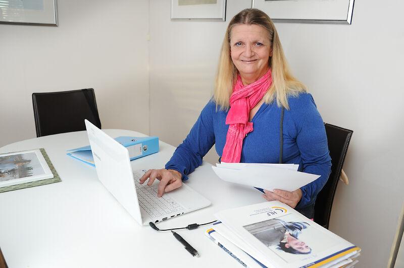 HLF-VETERAN. Dot Elisabeth Bergh har vært akriv i HLF siden hun var ung og har de siste årene vært kasserer i HLF Bærum og HLF Akershus.
