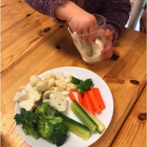 Mat i fokus på småbarnsavdelingen Bamsebo