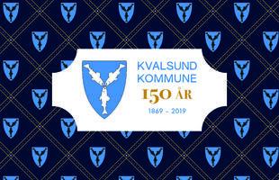 Kvalsundkommune_150år_logo_mmønster