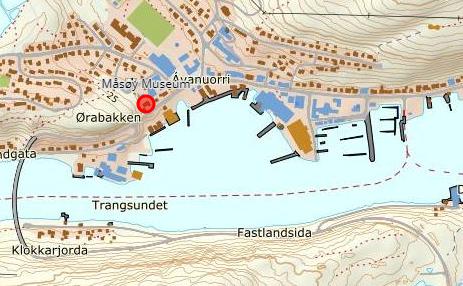 Måsøy Museum Kart