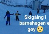Skigåing