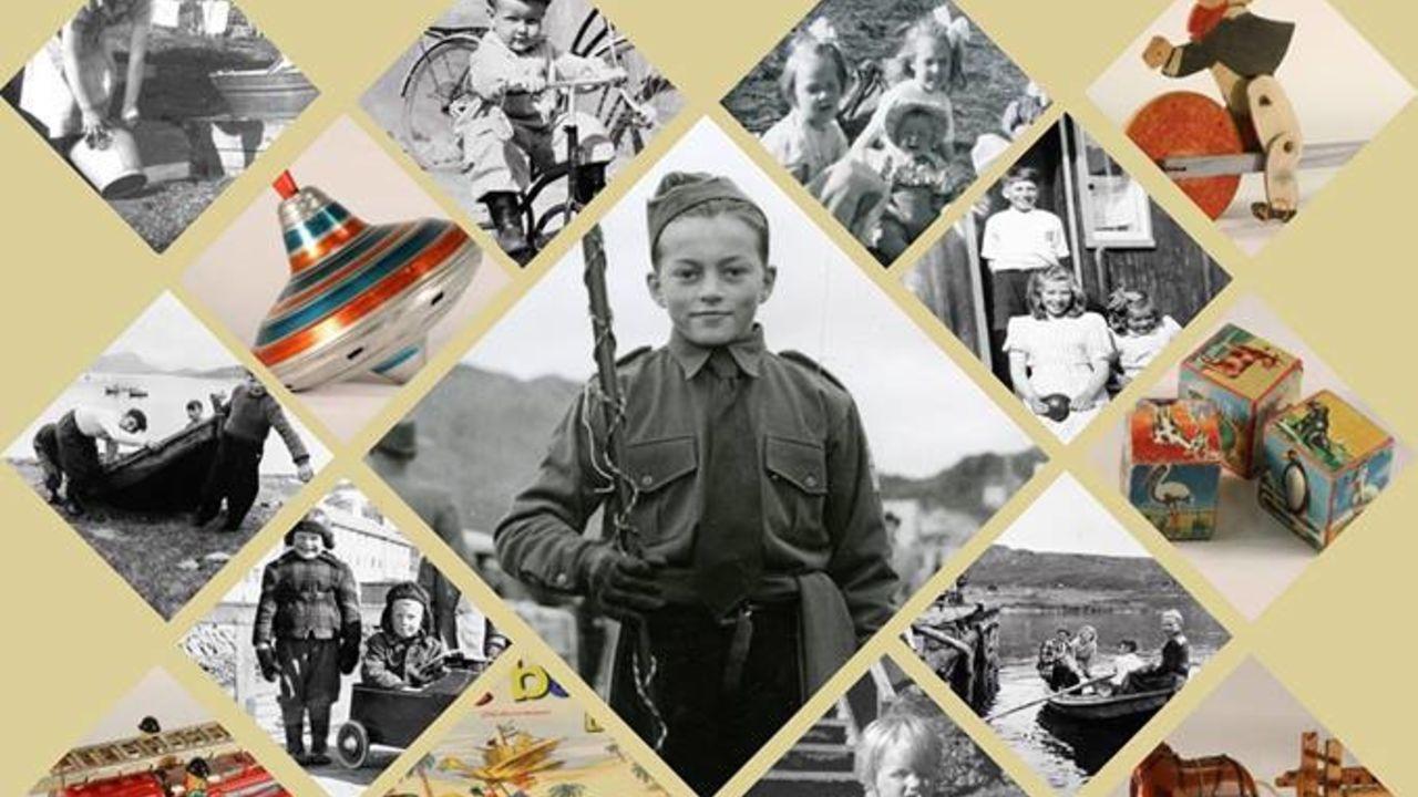 barn i gjenreisningstid plakat