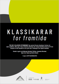 Standardplakat for Klassikarar for framtida