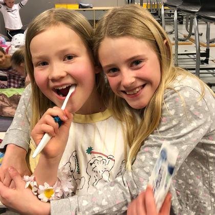 Fagerlund barneskole arrangerte lesevake for 4.trinn