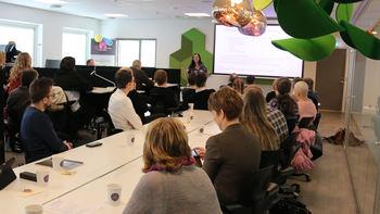 Det ble holdt en rekke mini-seminar under feiringen av Gründerparkens 1-årsdag
