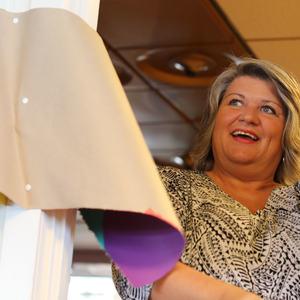 """Ordfører Anita Ihle Steen """"klippet snora"""" under åpningen av BUA Ringsaker"""