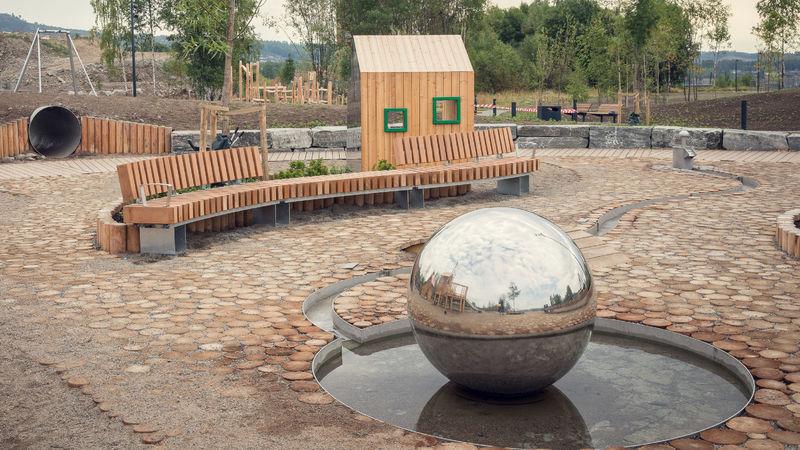 Lekeplassen i Mjøsparken