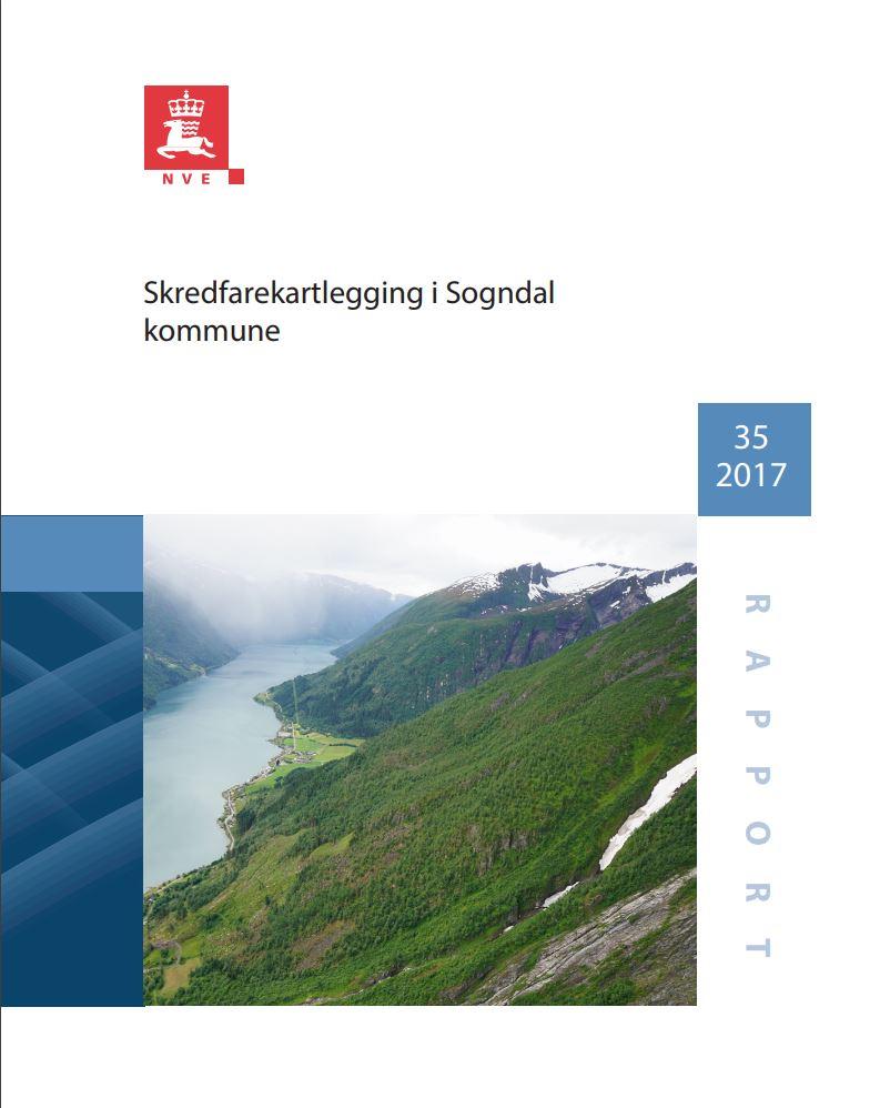 Illustrasjon - skredfarekartlegging Sogndal 2017
