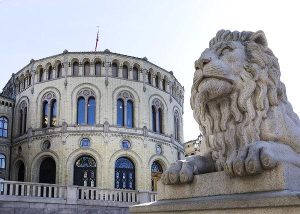 Oslo  20190328. Stortinget er Norges nasjonalforsamling. Løvebakken Foto: Gorm Kallestad / NTB scanpix