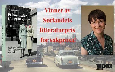 Siv Ringdal vinner av Sørlandets litteraturpris 2019