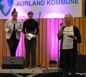 Programeleiar takkar Aurland