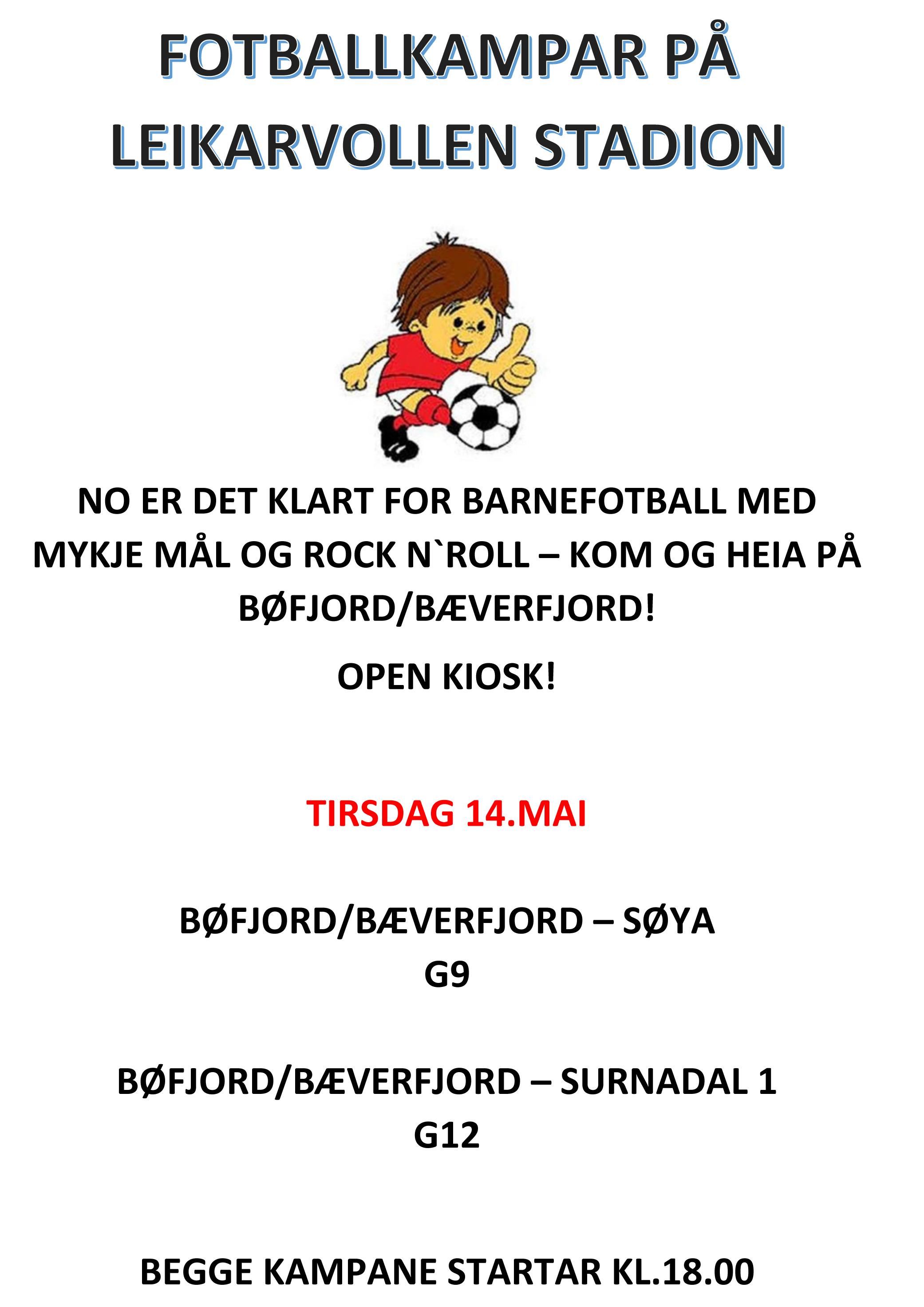 Plakat - Barnefotballen - Leikarvollen Stadion.jpg