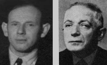 Philip Philipson og Isak M Goldmann